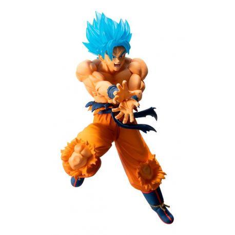 Dragonball figurine Ichibansho Super Saiyan God Super Saiyan Son Goku Bandai
