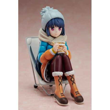 Laid-Back Camp figurine 1/8 Premium Noodle Stopper Rin Shima Furyu
