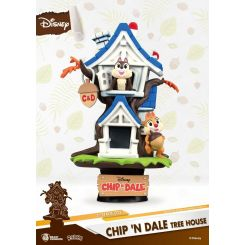 Disney Summer Series diorama D-Stage Chip 'n Dale Tree House Beast Kingdom Toys