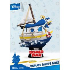 Disney Summer Series diorama D-Stage Donald Duck's Boat Beast Kingdom Toys