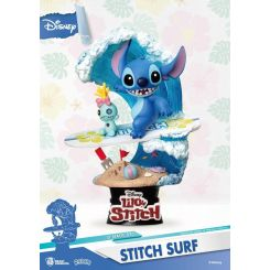 Disney Summer Series diorama D-Stage Stitch Surf Beast Kingdom Toys