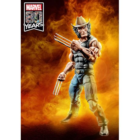Marvel Legends 80th Anniversary Series figurine Cowboy Logan Hasbro