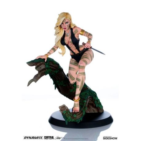 Women of Dynamite statuette Sheena Night Stalker Variant by J. Scott Campbell Dynamite Entertainment