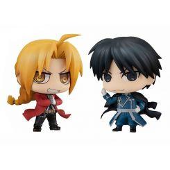 Fullmetal Alchemist pack 2 figurines Chimimega Buddy Series Edward Elric & Roy Mustang Set Megahouse