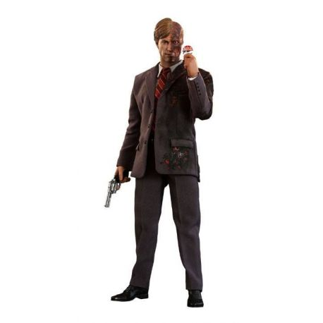 The Dark Knight figurine Movie Masterpiece 1/6 Two-Face 2019 Toy Fair Exclusive Hot Toys