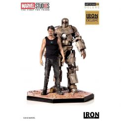 Marvel Comics statuette 1/10 Iron Man Mark I CCXP 2019 Exclusive Iron Studios