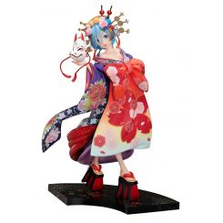 Re:ZERO -Starting Life in Another World- figurine 1/7 Rem -Oiran Dochu- Furyu