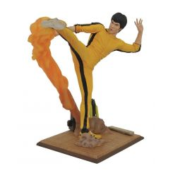 Bruce Lee Gallery statuette Kicking Diamond Select