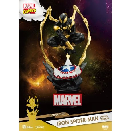 Marvel diorama D-Stage Iron Spider-Man Comic Version Beast Kingdom Toys