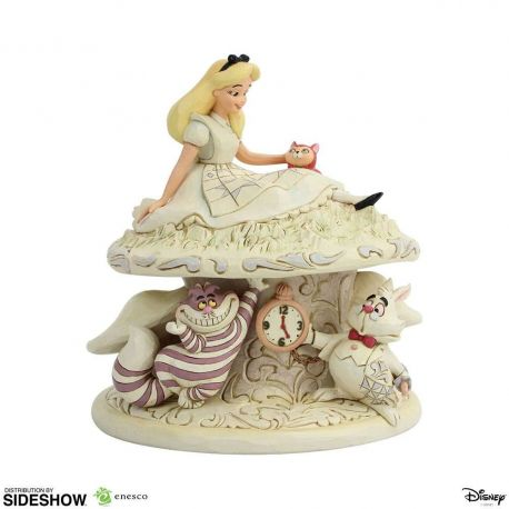Disney statuette White Woodland Alice in Wonderland (Alice au pays des merveilles) Enesco