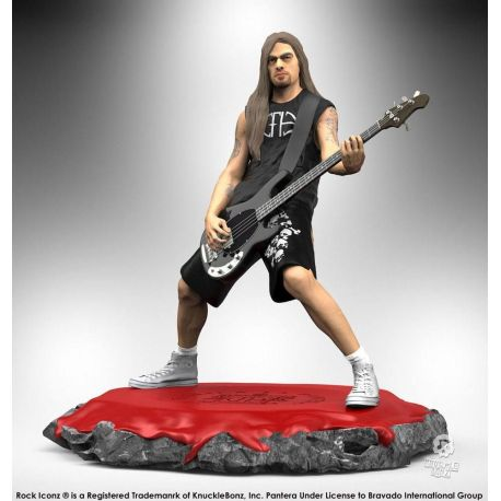 Pantera statuette Rock Iconz Rex Brown Knucklebonz