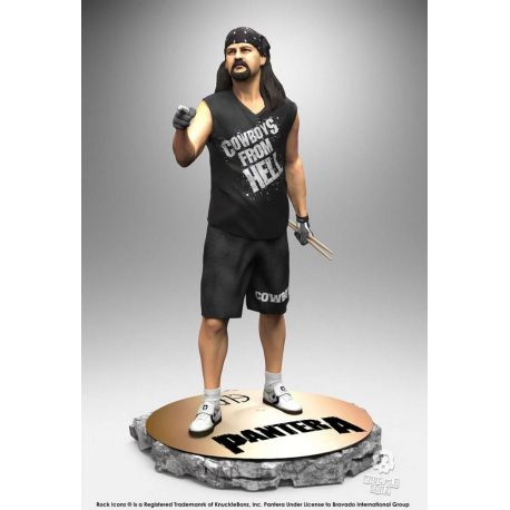 Pantera statuette Rock Iconz Vinnie Paul Knucklebonz
