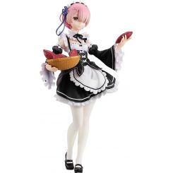 Re:ZERO -Starting Life in Another World- figurine 1/7 Ram Tea Party Ver. Kadokawa