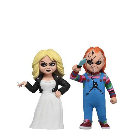 La Fiancée de Chucky pack 2 figurines Toony Terrors Chucky et Tiffany NECA
