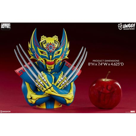 Marvel Super buste Urban Aztec Wolverine by Jesse Hernandez Unruly Industries