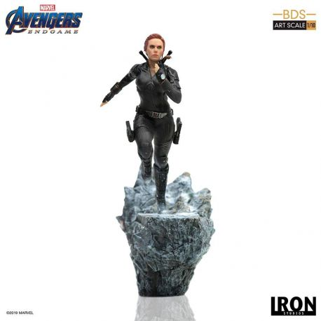 Avengers Endgame statuette BDS Art Scale 1/10 Black Widow Iron Studios