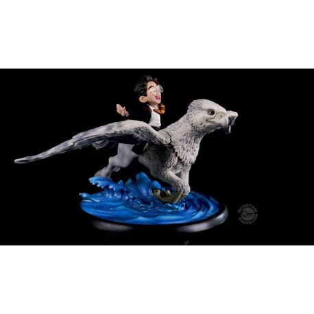 Harry Potter diorama Q-Fig MAX Harry & Buckbeak Quantum Mechanix