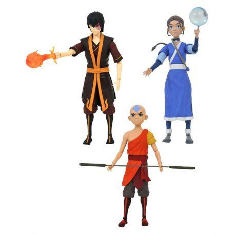 Avatar le dernier maître de l´air Select série 1 assortiment figurines Diamond Select