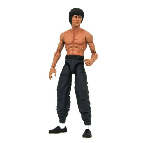 Bruce Lee Select figurine Bruce Lee Shirtless Diamond Select