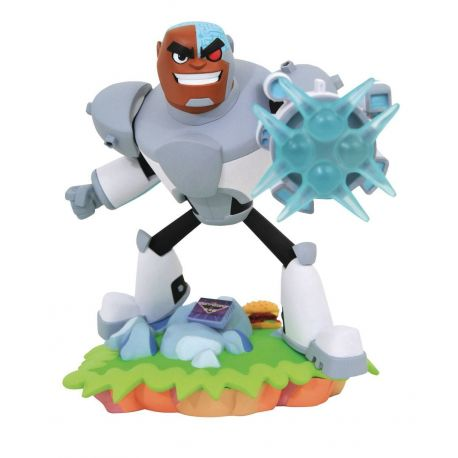 DC Gallery Teen Titans Go! statuette Cyborg Diamond Select