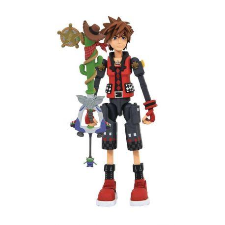 Kingdom Hearts 3 Select figurine Valor Form Toy Story Sora Diamond Select