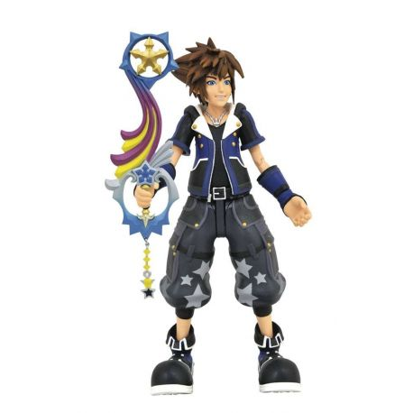 Kingdom Hearts 3 Select figurine Wisdom Form Toy Story Sora Diamond Select