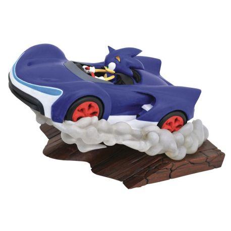 Sonic Racers Gallery diorama Sonic Diamond Select