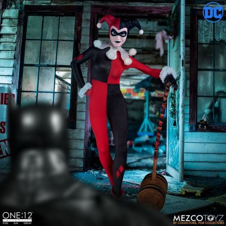 DC Comics figurine 1/12 Harley Quinn Deluxe Edition Mezco Toys