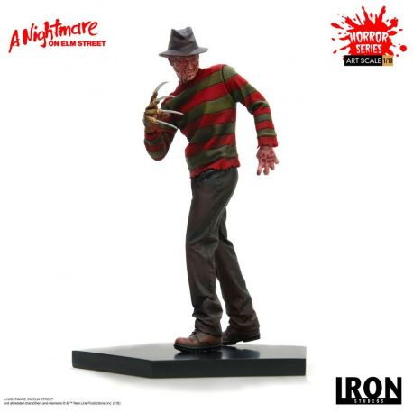 Nightmare On Elm Street statuette 1/10 Art Scale Freddy Krueger Iron Studios