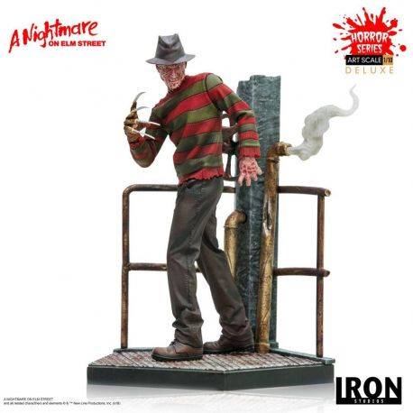Nightmare On Elm Street statuette 1/10 Art Scale Freddy Krueger Deluxe Iron Studios