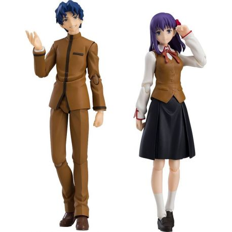 Fate/Stay Night Heaven's Feel pack 2 figurines Figma Shinji Matou & Sakura Matou Max Factory