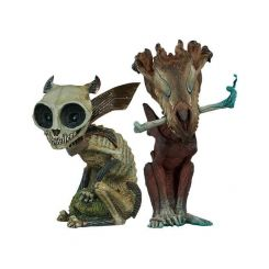 Court of the Dead pack 2 statuettes Court Critters Collection Skratch & Riazz Sideshow Collectibles
