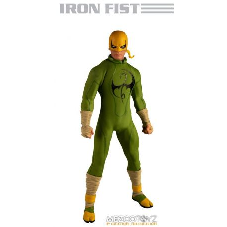 Marvel figurine 1/12 Iron Fist Mezco Toys