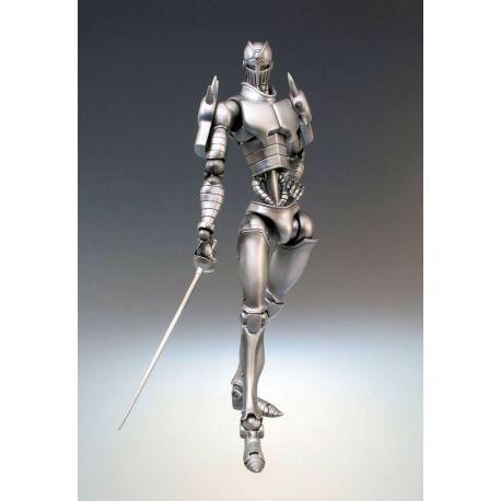 JoJo's Bizarre Adventure figurine Super Action Chozokado (Silver Chariot) Medicos Entertainment