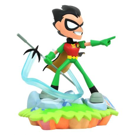 Teen Titans Go! DC TV Gallery statuette Robin Diamond Select