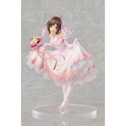 The Idolmaster Cinderella Girls statuette 1/7 Miku Maekawa Dreaming Bride Ver. Limited Knead