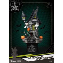 L´étrange Noël de Mr. Jack diorama D-Stage Jack's Haunted House Beast Kingdom Toys