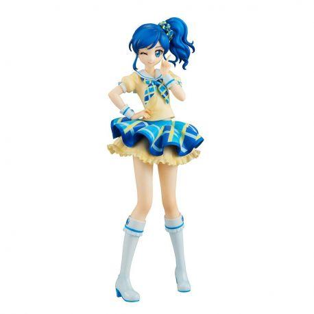 Aikatsu! statuette Lucrea Aoi Kiriya Blue Stage Ver. Megahouse