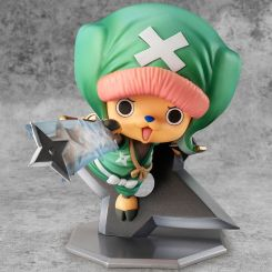 One Piece statuette P.O.P. Warriors Alliance Chopper Megahouse