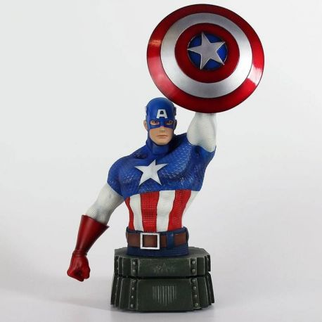 Marvel buste Captain America Semic