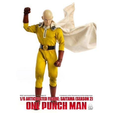 One Punch Man figurine 1/6 Saitama (Season 2) ThreeZero