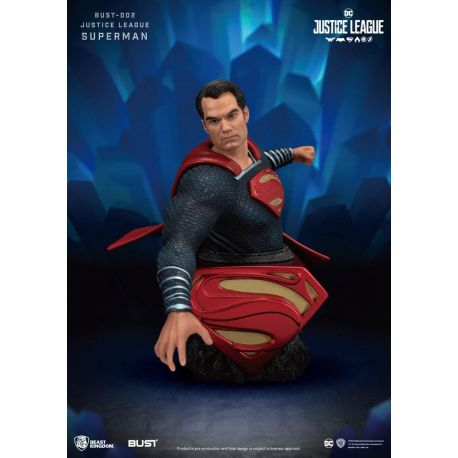 Justice League buste Superman Beast Kingdom Toys