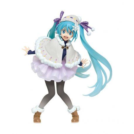 Vocaloid statuette Hatsune Miku Winter Ver. Renewal Taito Prize