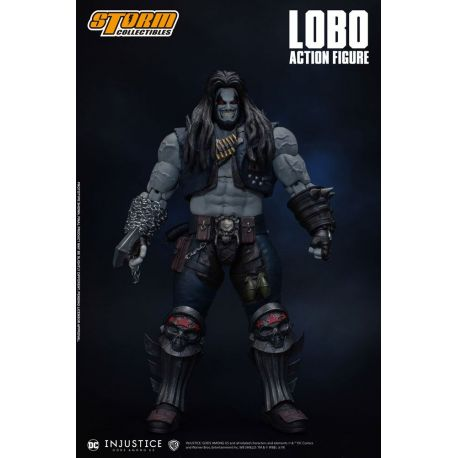 Injustice : Gods Among Us figurine 1/12 Lobo Storm Collectibles