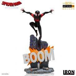 Spider-Man New Generation statuette BDS Art Scale Deluxe 1/10 Miles Morales Iron Studios