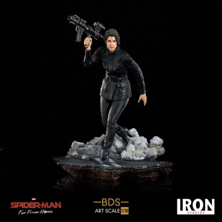 Spider-Man Far From Home statuette BDS Art Scale Deluxe 1/10 Maria Hill Iron Studios