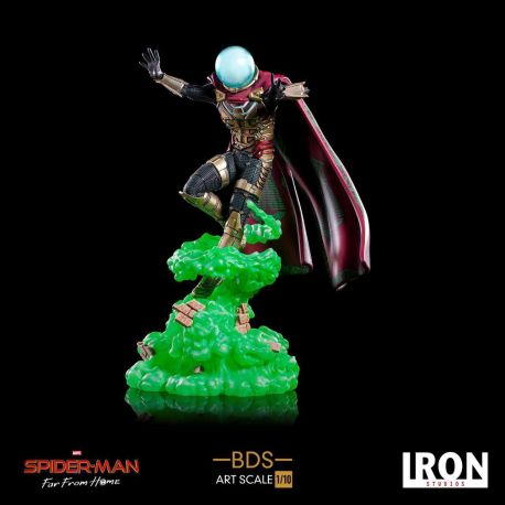 Spider-Man Far From Home statuette BDS Art Scale Deluxe 1/10 Mysterio Iron Studios