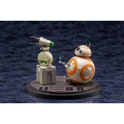 Star Wars Episode IX pack 2 statuettes 1/7 ARTFX+ D-O & BB-8 Kotobukiya