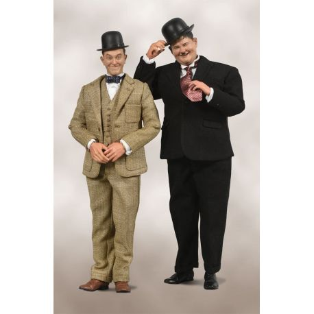 Laurel & Hardy pack 2 figurines 1/6 Classic Suits Limited Edition BIG Chief Studios