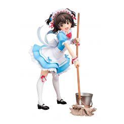 Idolmaster Cinderella Girls figurine 1/7 Miria Akagi (Let's Go Miss Maid) Plum